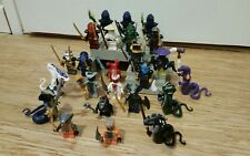 NEUF gros lot 24 figurines personnages ninjago serpent  envoi IMMEDIAT
