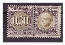 1929  -  MARCA DA BOLLO  SCAMBI COMMERCIALI   CENT. 50  NUOVA **