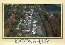 Aerial View of Katonah, New York, Muscoot Reservoir, Route 684, Ny - Postcard