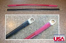 """4 AWG 12"""" Solar Wind Power Battery Cable Black and Red"""