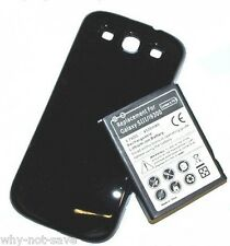 replacement extended battery and back cover for Samsung Galaxy S3 SIII GT-I9300