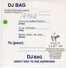 (BG187) Everything But The Girl, Five Fathoms - DJ CD