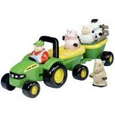 NEW RC2 JOHN DEERE 34908 ERTL M4 HAYRIDE TRACTOR TOY WITH SOUNDS &  SONG SALE