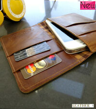 genuine leather case FIT for iphone 5  book wallet cover pouch 4s 4 3g 3 s cards