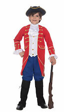 Kids Colonial Costume Hamilton Jefferson Adams Wax Museum Book Report Size Md
