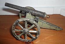 Elastolin Lineol ordnance field gun cannon tin for 7cm Figures Wwi ?