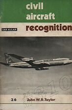 Civil Aircraft Recognition 1969 Ian Allen - John W.R. Taylor
