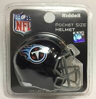 NFL Tennessee Titans Helmet Riddell Pocket Pro SPEED Style 2018 Mini Team Helmet