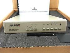 Appro Tech Model Fio-8134N Black White Quad Processor Surveillance Security