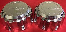 TWO USED PROVA ALLOYS Truck Chrome Wheel Center Cap # 972B170-8HB CAP 4816-17