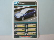 69-AUTOSALON CARS A4 MAZDA 3 QUARTETT CARD