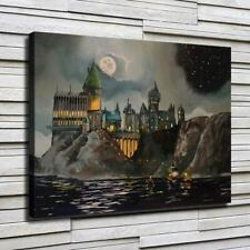 Harry Potter school Hd Canvas printed Home decor painting room Wall art poster