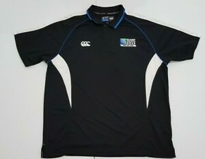 Canterbury All Blacks New Zealand Rugby World Cup 2011  Shirt Size 3XL