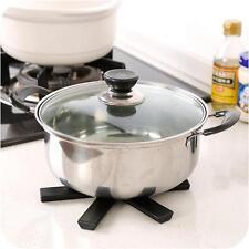 Foldable Non-slip Heat Resistant Pad Trivet Pan Pot Holder Mat Kitchen 6 Corners