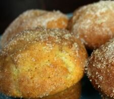 8 HOMEMADE Sugar-Free DONUT or JELLY DONUT MUFFINS * Berry or Orange Marmalade