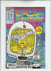 Back to the Future Forward to the Future #1 (Harvey 1992) Newsstand FN/VF