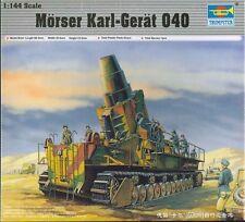 Trumpeter 00101 Morser Karl-Gerat 040 Plastic Model Military Armor Kit 1/144
