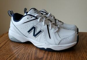 New Balance MX619 White Blue Training Walking Shoe Sneaker Men's Size 8.5D