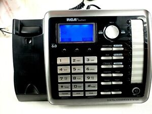 RCA Land Line Phone NO cordless phone Base 25255RE2 1.9 GH Tested works well