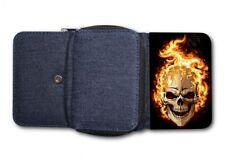 Damen Tasche Geldbörse Portemonnaie Skull Schädel