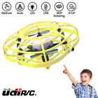 UDIRC LED Flying Ball Drone Hand Control Mini Drone Toys for Kids w Fan Mode USA