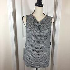 Talbots Women's Sleeveless Blouse Top Shirt - Small