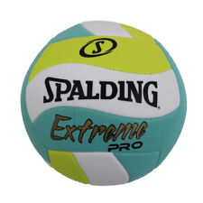 Spalding Extreme Pro Wave Outdoor Volleyball Blue/Green Official Size Blowout
