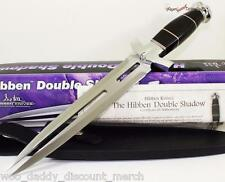 Gil Hibben Large Double Shadow Expendables II Dagger Combat Fighting Knife