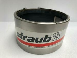 STRAUB OPEN FLEX 2L FLEXIBLE PIPE COUPLING FOR REPAIR OF PIPES 219.1 MM 10 BAR