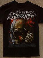 """Dyse One Men's T-Shirt """"Lost Skull"""" -- Black"""