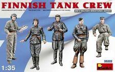 WW II FINNISH TANK CREW (TO VICKERS E, T-26, T-50 ETC) #35222 1/35 MINIART