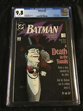 DC Comics Batman #429 CGC 9.8 NM/MT - WHITE Pages Gentleman Joker Cover!