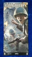 Call of Duty 2 Video Game Store Display Sign 2005 Activision X-Box 360 PC Promo