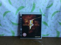 Sony PS3 game Resident Evil 5 - Playstation 3 (BS1)