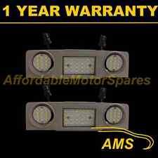 2x Para Volkswagen Scirocco 2009 - 48 Led Blanco Frente Interior Techo cortesía Lámpara