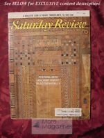 Saturday Review February 3 1968 Ancient Egypt I. A. RICHARDS WILLIAM KOREY