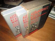 Alfred Doblin ALEXANDERPLATZ BERLIN First Editions in jacket & slipcase 1931