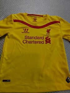 maillot de football liverpool taille 4/5  ans WARRIOR