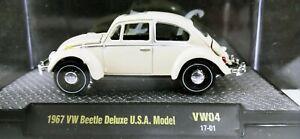 M2 Machines 1:64 Auto Thentics 1967 VW BEETLE DELUXE USA MODEL