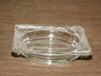 VINTAGE TOBACCO CIGARETTES EDGEWOOD 40 YEARS OF THE FINEST GLASS ASHTRAY