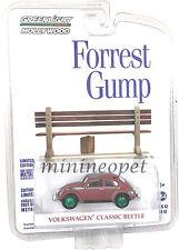GREENLIGHT 44720 F FORREST GUMP VW VOLKSWAGEN CLASSIC BEETLE 1/64 GREEN MACHINE