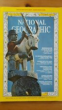 National Geographic magazine October 1967 With Map of Indian Ocean Floor