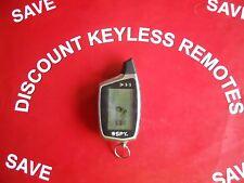 SPY  LCD RADIO  KEYLESS REMOTE   5-BUTTON  GOOD CONDITION