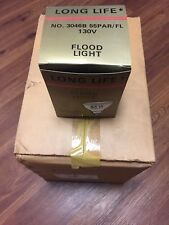 12 Pack Long Life Outdoor Incandescent Flood Light Bulbs 55W 130V 4000 Hours
