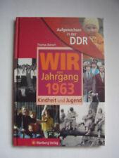"""Buch """"Aufgewachsen in der DDR - Wir vom Jahrgang 1963"""" Thomas Bienert OVP 2009"""