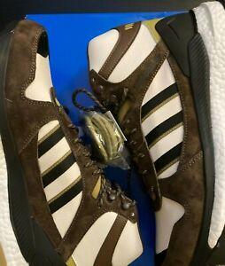 Adidas Marathon Free Hiker Human Made Hiking Shoes 11.5 Chalk White Khaki FY9148