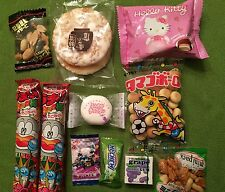 Japanese Snacks Dagashi Okashi Candy Mini Set (10) U.S Seller FAST Free shipping