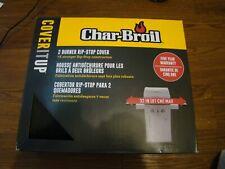 """Char-Broil 2 Burner Rip-Stop Cover 32"""" Max #8728"""