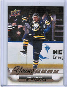 15/16 UD SERIES 1 HOCKEY YOUNG GUNS RC CANVAS CARDS (C92-C120) U-Pick From List