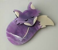 Unique Fox  Brooch Pin In acrylic